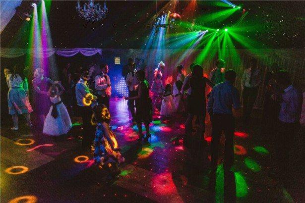 Heaton farm wedding party