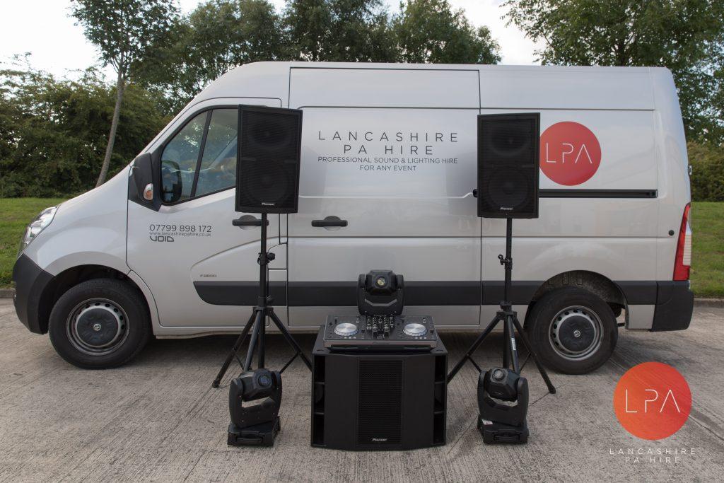 Lancashire PA Hire LPA Pioneer XPRS Party pack