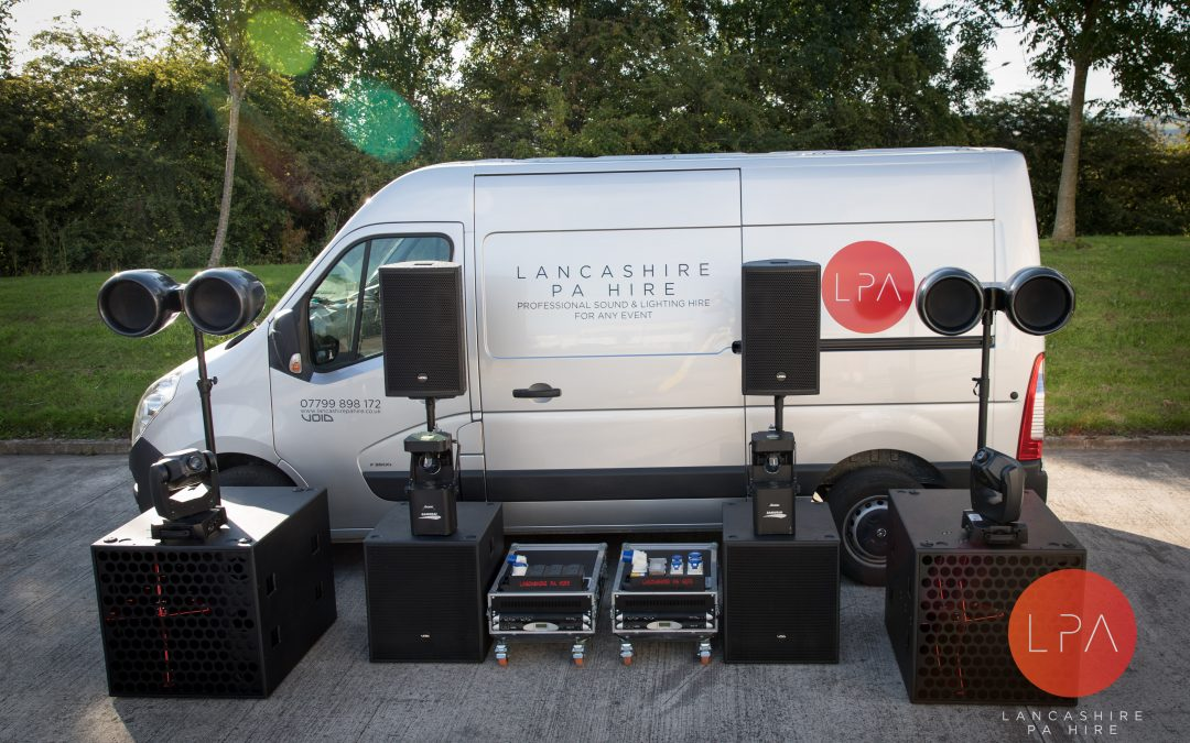PA Hire Manchester with VOID Acoustics & Pioneer Systems