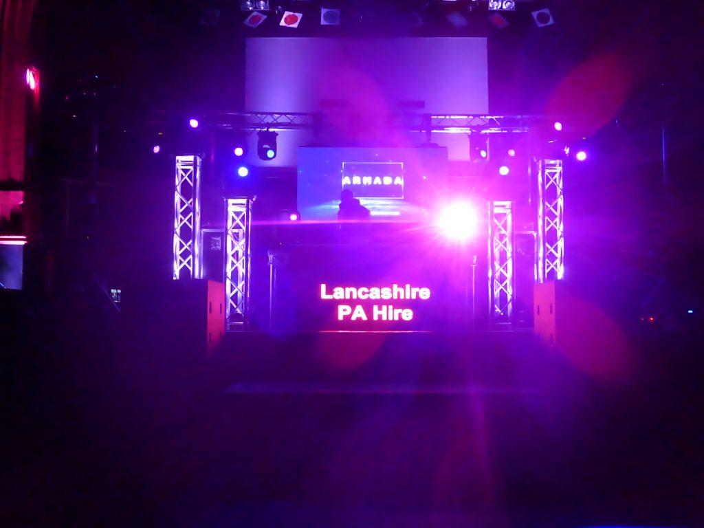 Lancashire PA Hire LPA Void acoustics hire North West
